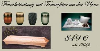 feuerbestattung mit trauerfeier und urne bestatter. Black Bedroom Furniture Sets. Home Design Ideas